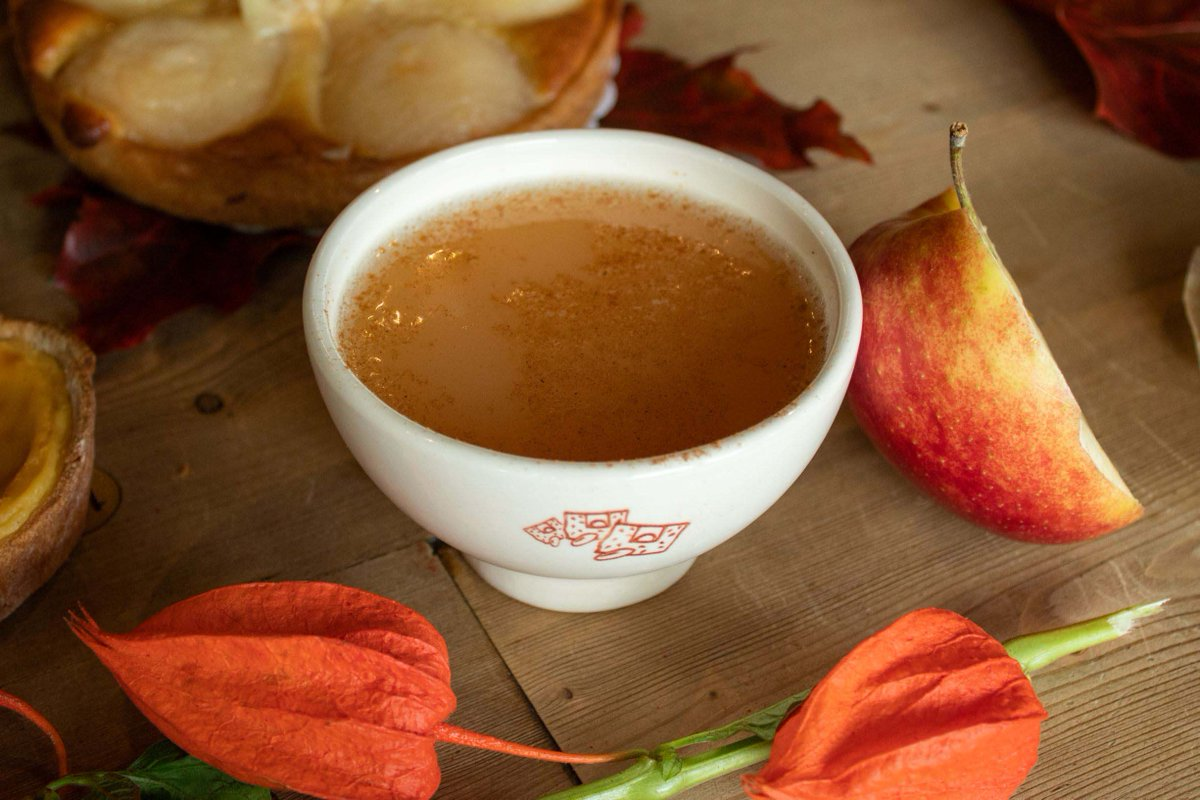 Fall in a cup 🤤 Our new Apple & Ginger Infusion.✨🍁 #warmup #fall #WorldofWarmth #lepainquotidiennl https://t.co/g8rE5JDO3C