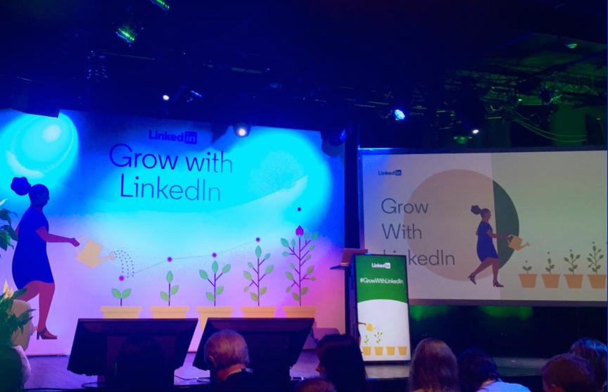 Nous sommes présents à l'événement Grow with #LinkedIn mettant en lumière les dernières tendances de consommation, de solutions, de ciblage sur la plateforme ! https://t.co/Qn2F9vNP1d