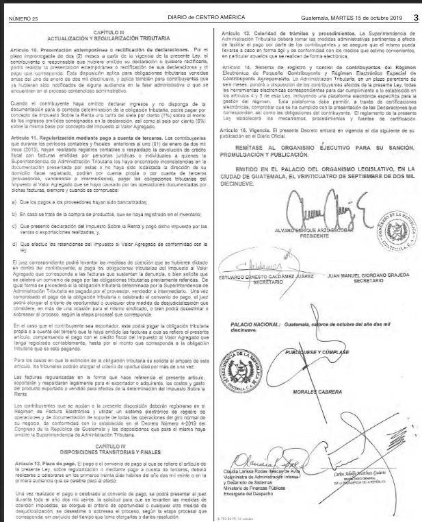 test Twitter Media - En el Diario Oficial se publicó hoy la Ley de Simplificación, Actualización e Incorporación Tributaria, conocida como Ley Ganadera, el cual beneficia a este sector en el pago de impuestos. https://t.co/Gj7u5NU56H