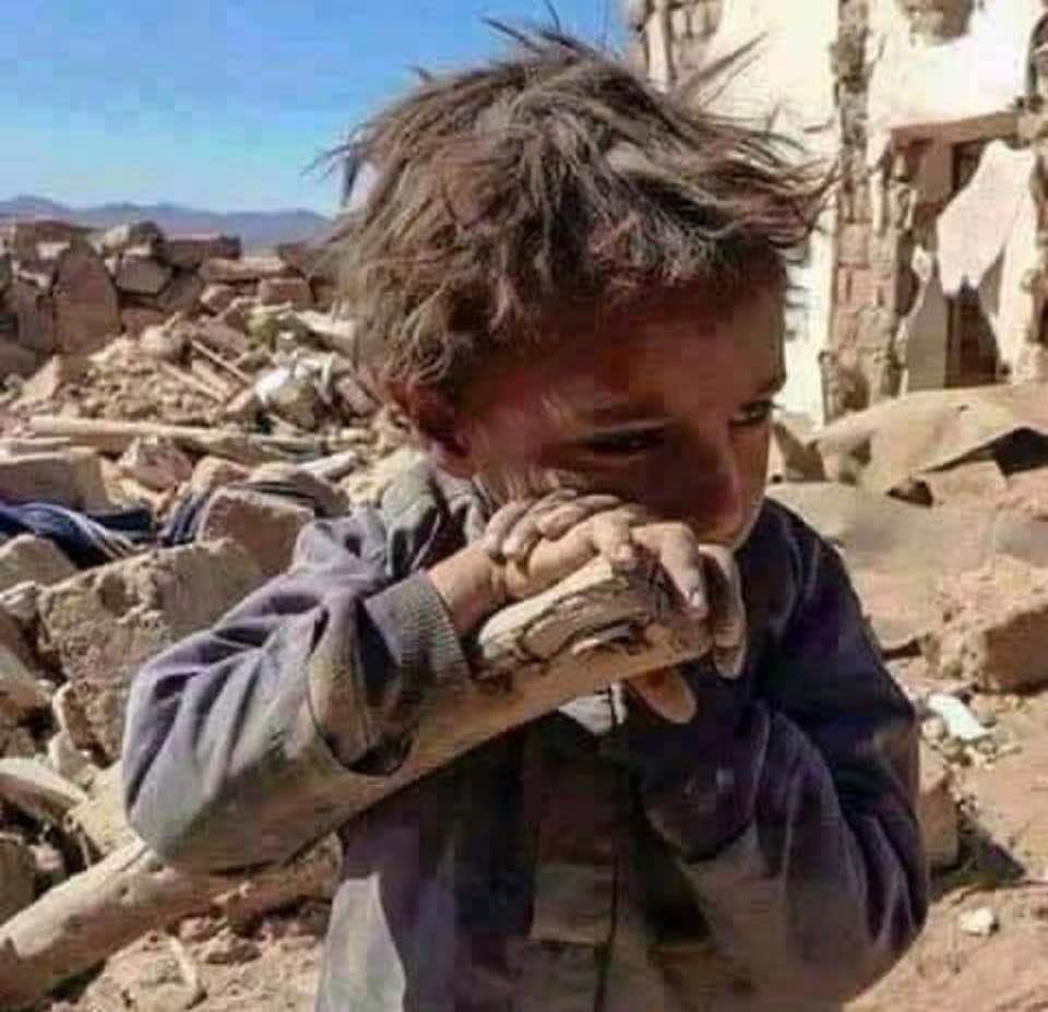 Brings me to tears. How can any human allow this to happen. #TrumpGenocide #GOPComplicitTraitors