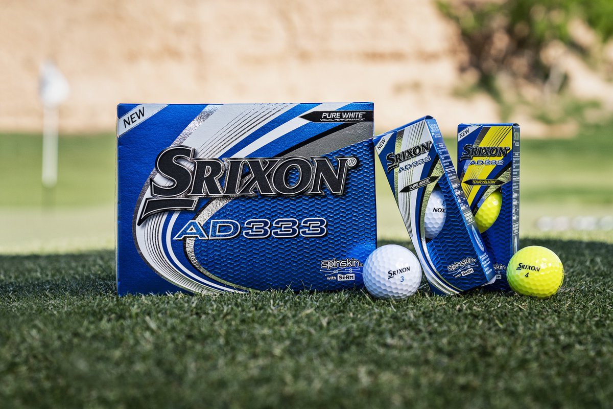 Have you played with the new AD333s yet? To explore, click here: bit.ly/2H8hZR4 #Srixon #SrixonGolf #AD333