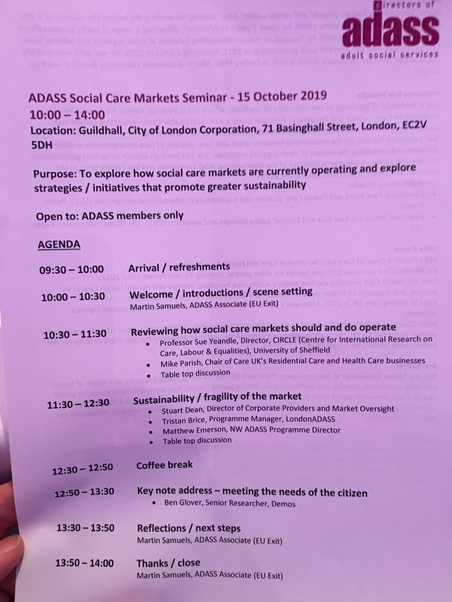 test Twitter Media - Great @1adass session today discussing adult #SocialCare markets. We shared the work #NorthWest has done on market resilience from perspectives of market shaping, quality and preparedness 👇 https://t.co/tUbJHt5dZn