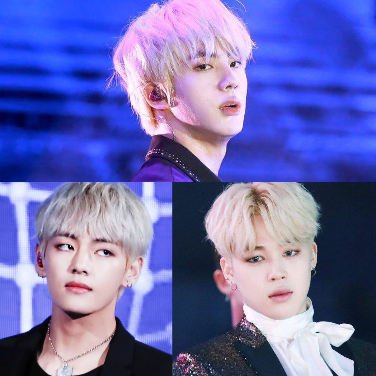 All of them blonde around the same time. Would u survive? <br>http://pic.twitter.com/Lp7CqLq0u7