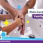Image for the Tweet beginning: Handwashing helps keep your family