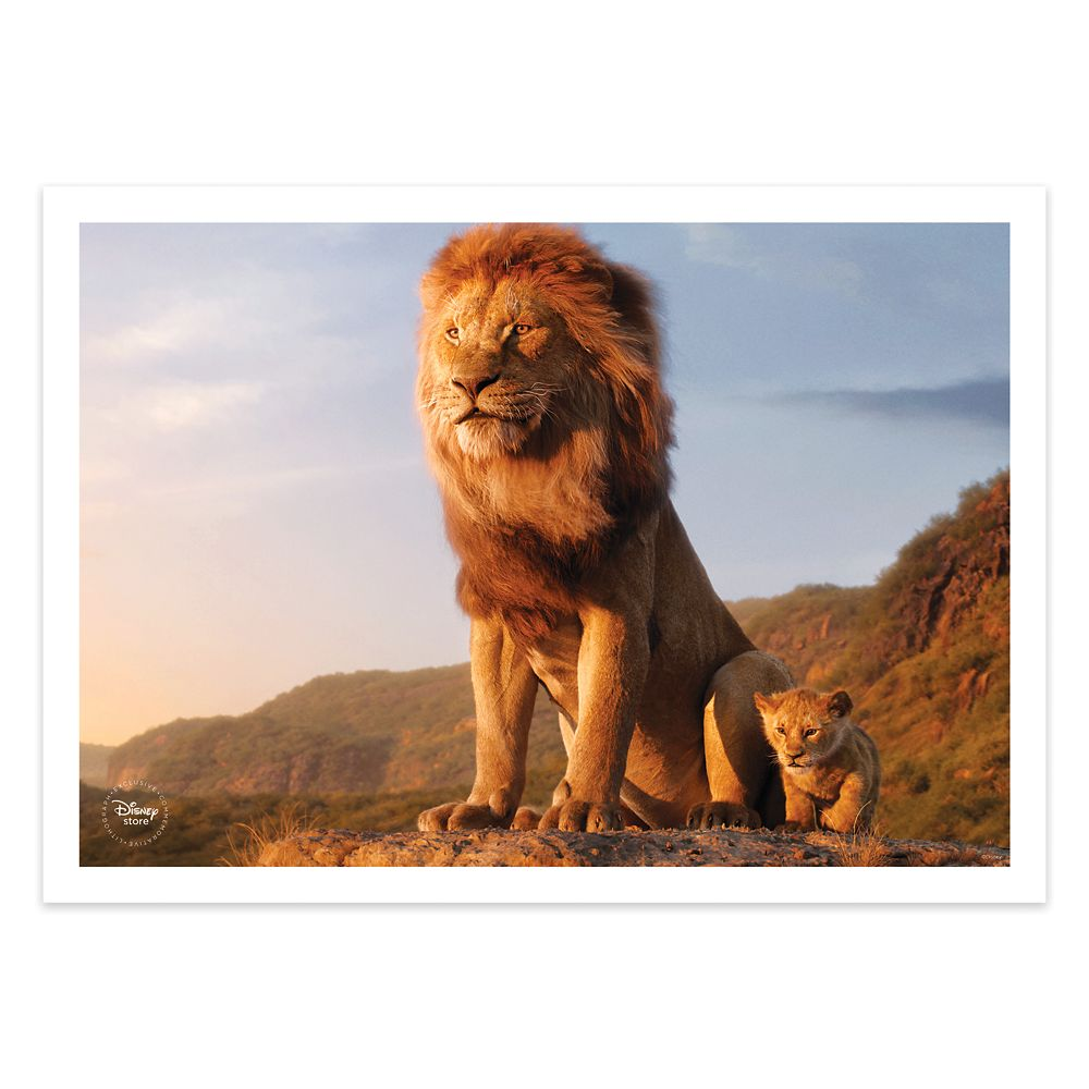 Pre-Order #TheLionKing Blu-ray Combo Pack from the Disney Store now and receive an exclusive set of four Lithographs, while supplies last. di.sn/60071G6PT