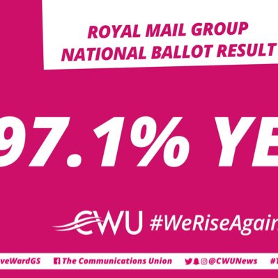 Massive thanks to CWU Reps and our epic members in the SW Region. Along with your fellow Postal Workers across the UK you have collectively sent a huge message to the employer. Solidarity !!