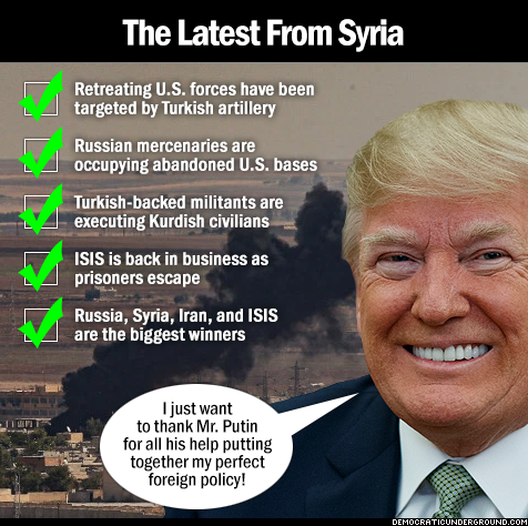 The latest from Syria