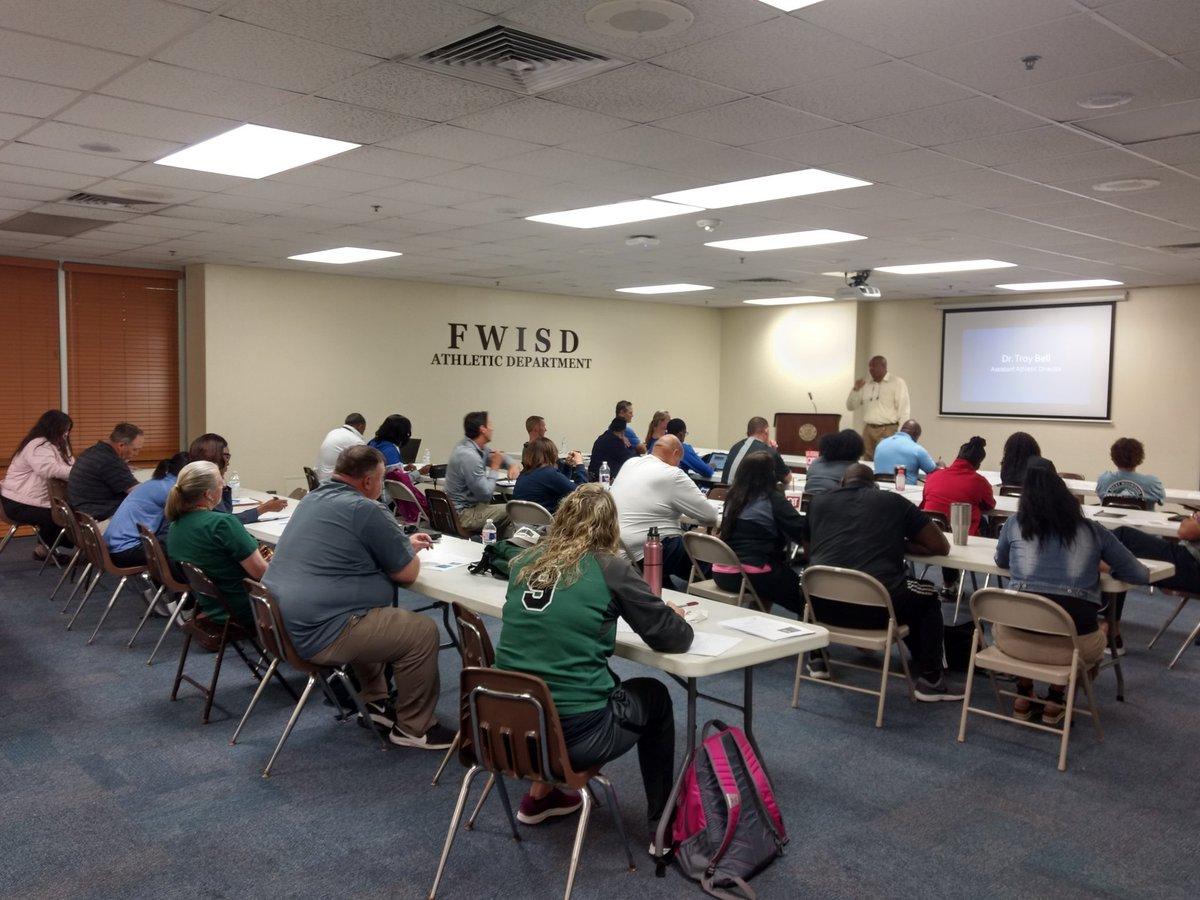 Fort Worth ISD Athletic Coordinators Meeting