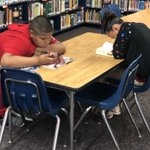 Image for the Tweet beginning: 📚Our 5th Graders enjoyed checking