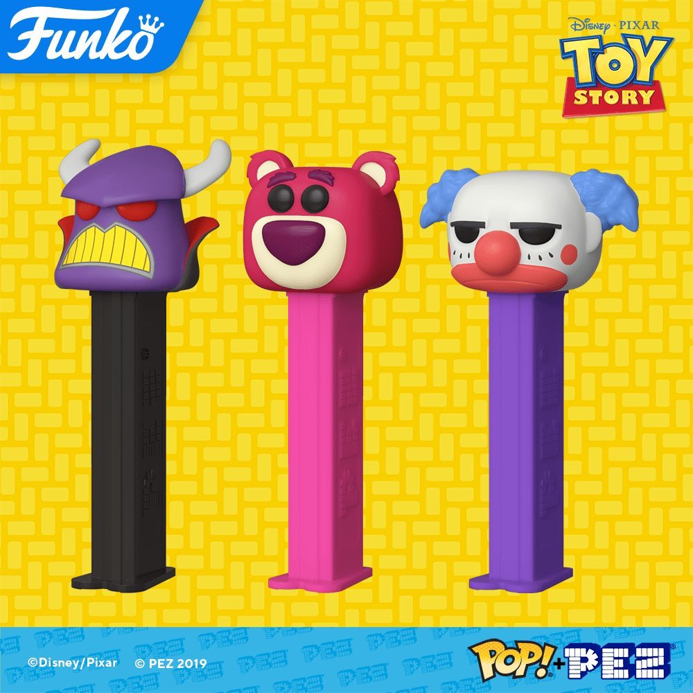 COMING SOON: Pop! PEZ— Disney and Pixar's Toy Story! <br>http://pic.twitter.com/ZVomLxB1lD