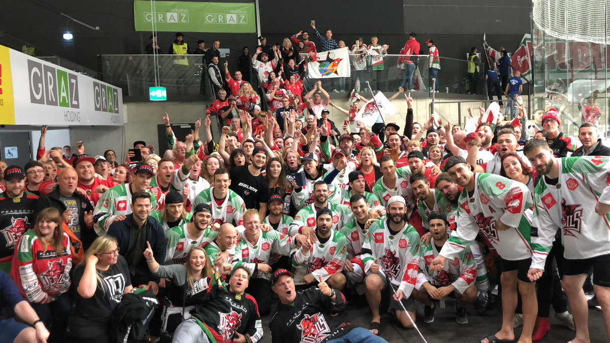 Don't cry cause it's over, smile because it happened    Our third European adventure is over but what a journey it's been - 3 wins, our first on the road & countless memories made!   Focus back on the league now to try & get back in the CHL next year. #ChampionsGoBeyond<br>http://pic.twitter.com/GyjdXUZ0Fw