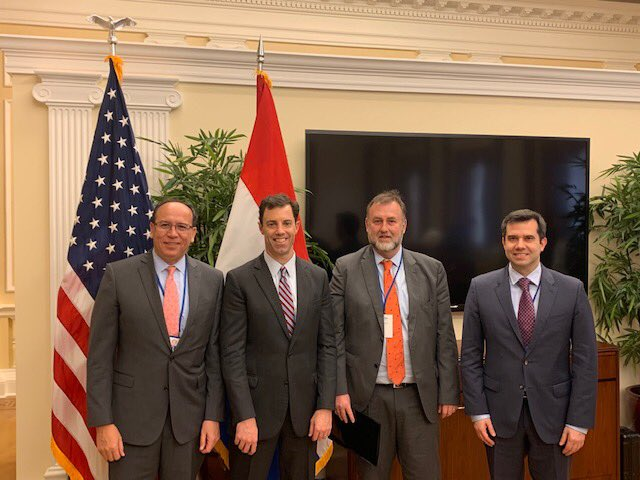 test Twitter Media - The @USChamber and AACCLA hosted a wide ranging conversation about Paraguay's economy, prospects for growth, and opportunities for greater bilateral commercial ties with the leaders of @HaciendaPY @BCP_PY https://t.co/QAoLDqPfxC
