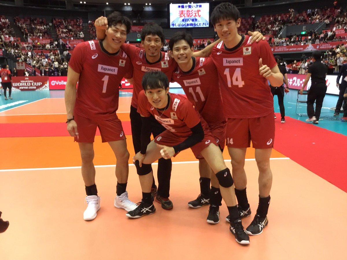 応援してくださった皆様のご声援が力となり日本に最大の力を与えてくれました。見ていて感動するようなプレーバレーボールの魅力が少しでも伝わったんじゃないかと思います。全日本男子応援して下さり本当にありがとうございました。次はVリーグが開幕します!みなさん是非見に来てください。
