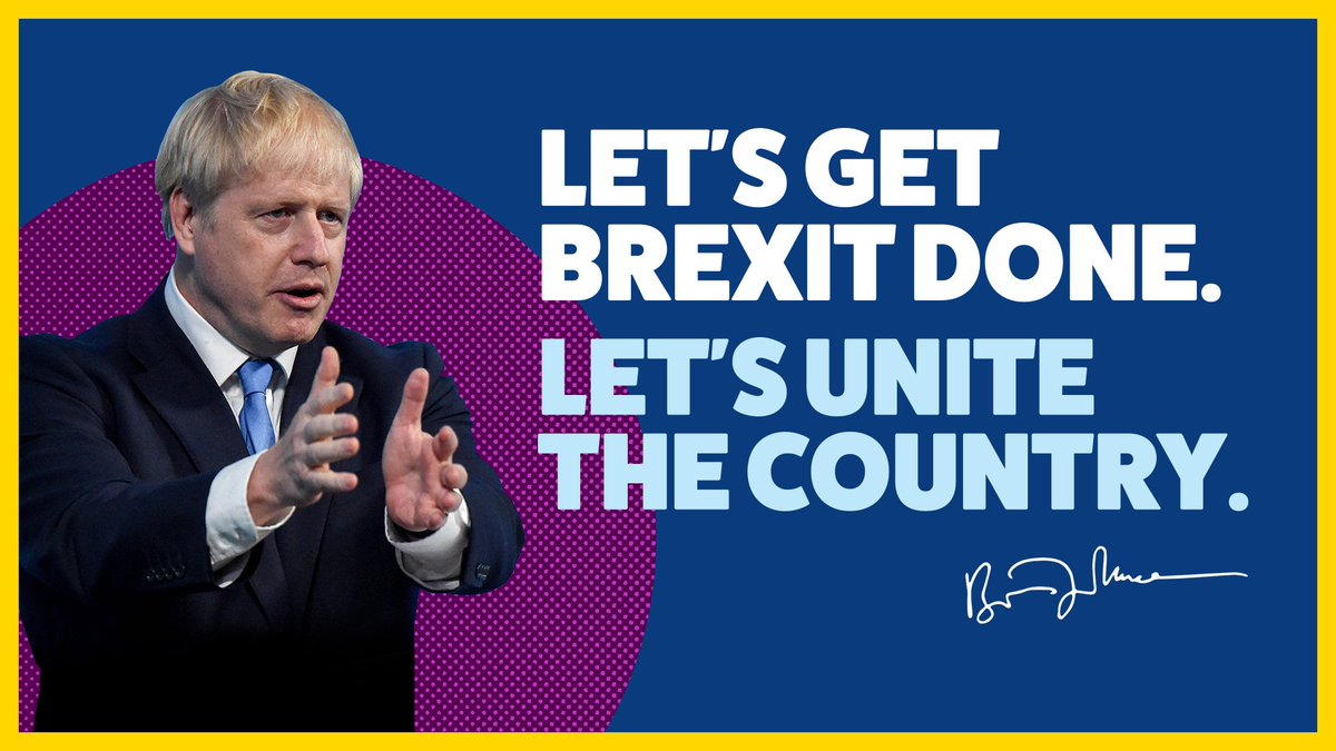 Only @BorisJohnson and the Conservatives will #GetBrexitDone so we can get on with the priorities of the people and bring the United Kingdom together.<br>http://pic.twitter.com/cuoQElQYve
