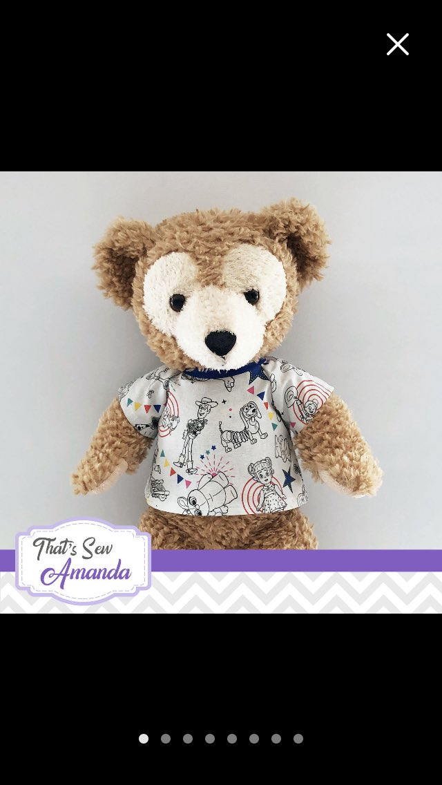 Just ordered these cute shirts for Duffy from Amanda @CraftyShellie can't wait for him to get them he's going to be super cute 🧸 #duffythedisneybear #disney #ToyStory4 #autismawareness @Etsy