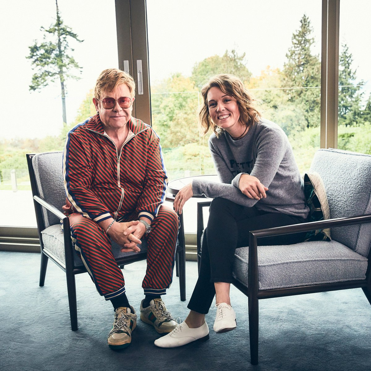 I get asked that question, Whats the best night youll never forget? And that was the night. @eltonofficial talks #EltonJohnBook, performing with @johnlennon, and more. Watch as he takes questions from @brandicarlile. 🎥 apple.co/Elton-Me