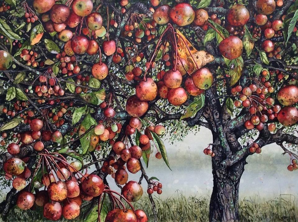 #paintings by American artist Maggie Vandewalle