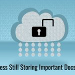 Image for the Tweet beginning: #Data stored in the #cloud
