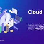 Image for the Tweet beginning: Nuestros servicios #Cloud ofrece las