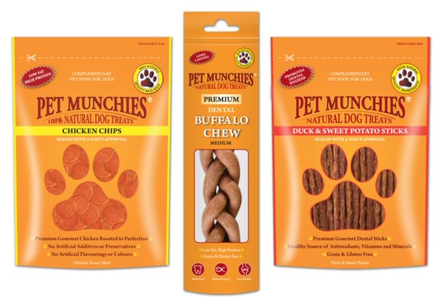 #competitionTime #Win 3 Packs of Meaty Treats for your #Dog from @PetMunchies  - gourmet treats made with quality, human grade meat and fish.  Answer the question correctly & you could be one of 7 lucky #winners https://www.goodvetandpetguide.com/competitions/win-treats-for-your-dog …