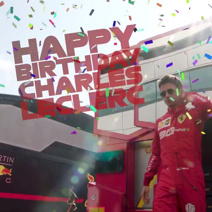 Happy Birthday, @Charles_Leclerc ! 🎂  The @ScuderiaFerrari star is 22 today 🎈  And he's been quite busy since he turned 21 👀  #F1