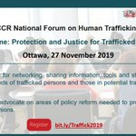 Image for the Tweet beginning: Join @ccrweb National Forum on