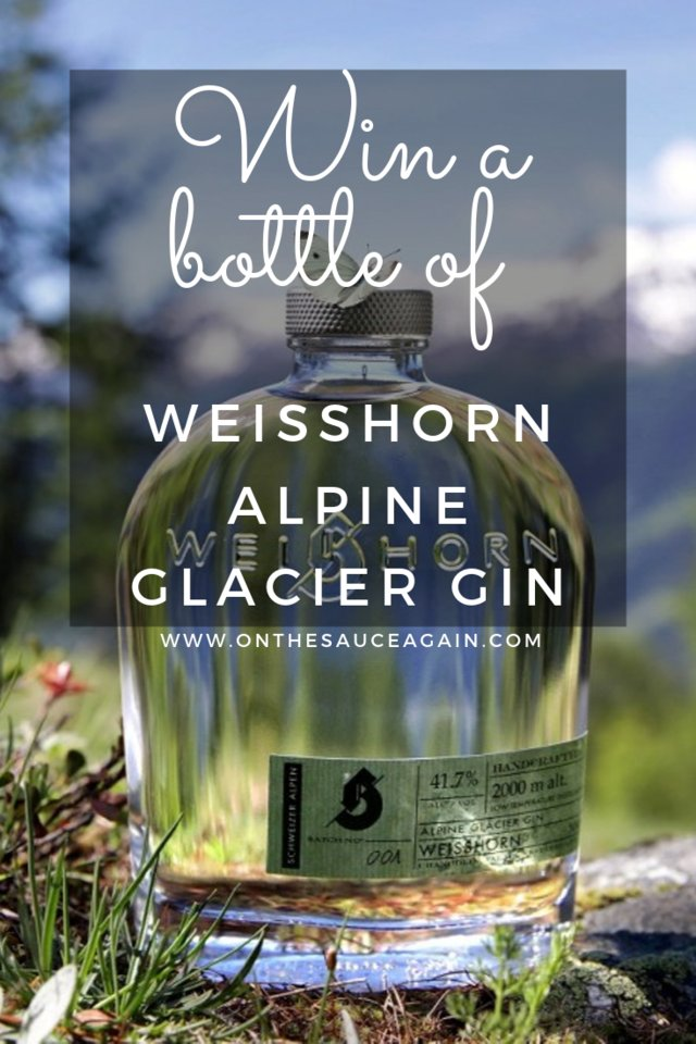 #COMPETITIONTIME! 🎉🎉🎉 Weisshorn Alpine Glacier Gin (+ #WIN A BOTTLE).  I have teamed up with Weisshorn Glacier Gin to give you a chance to try their Swiss Gin. #AD #Competition #GiveAway #WinGin #Comp #Winner #Giveaways  https://onthesauceagain.com/2019/10/14/weisshorn-alpine-glacier-gin/ …
