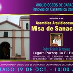 Image for the Tweet beginning: #15octubre la Renovación Carismática Católica