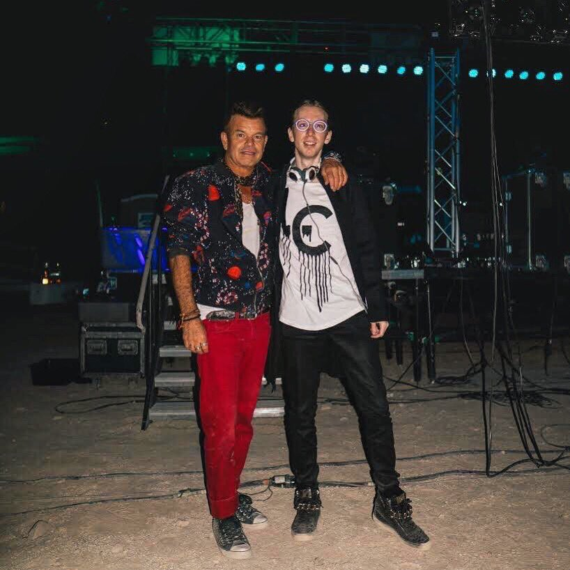 With the legend @pauloakenfold in the middle of a desert    Was a pleasure turning the desert into a rave with you.   : @williamphillipscook #stormarea51 <br>http://pic.twitter.com/2XsniyWoB3