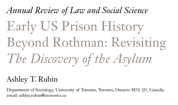 Image for the Tweet beginning: My @AnnualReviews in Law and