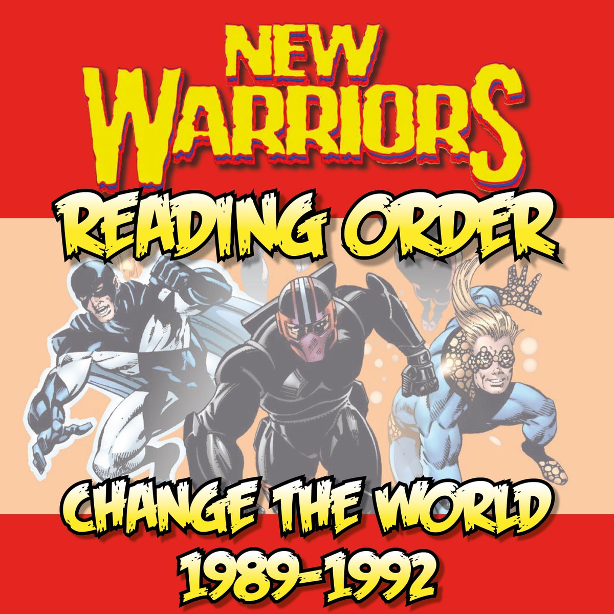Six teenagers unite to try to make the '90s a better place. NEW WARRIORS READING ORDER: CHANGE THE WORLD (1989-1992) has been added to the Marvel Comics Guide:  http:// bit.ly/NewWarriorsRea dingOrder-Part2  …  - - - #NewWarriors #Nova #Namor #Namorita #MarvelComics<br>http://pic.twitter.com/dZdxO4vL5u