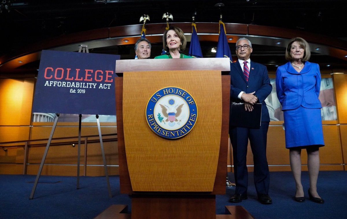 Every time we meet with students & families, we hear the same thing: college is far from being affordable. Now we are putting an end to years of Republican inaction by introducing the #CollegeAffordabilityAct.