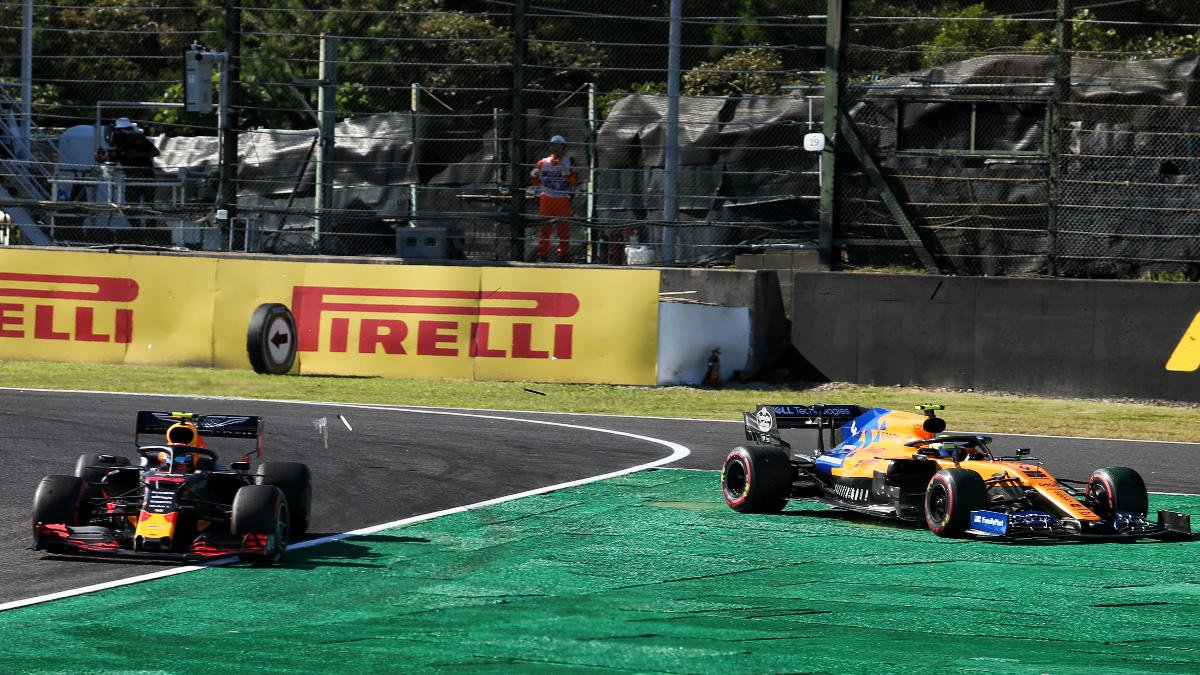"""Car performing well 👌  Really promising start 🚦  But events conspired to leave @LandoNorrisfeeling """"screwed"""" at Suzuka 😑  Video and reaction >> https://f1.com/NORJPNSUN  #JapaneseGP 🇯🇵 #F1"""