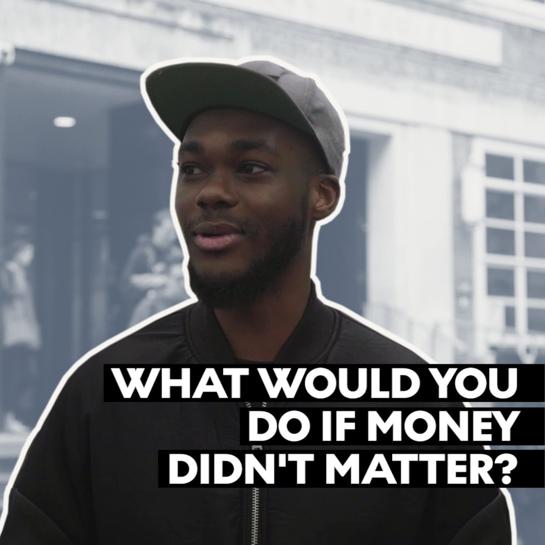 What would you do if money didnt matter?   Let us know what you would do in the comments! 📝