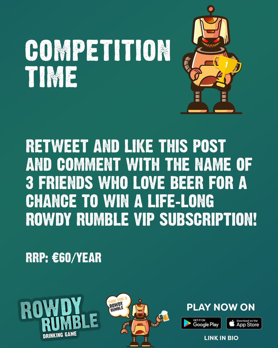 Our weekly competition! 🤖 🙌 😎 #CompetitionTime #drinking #drinkinggame