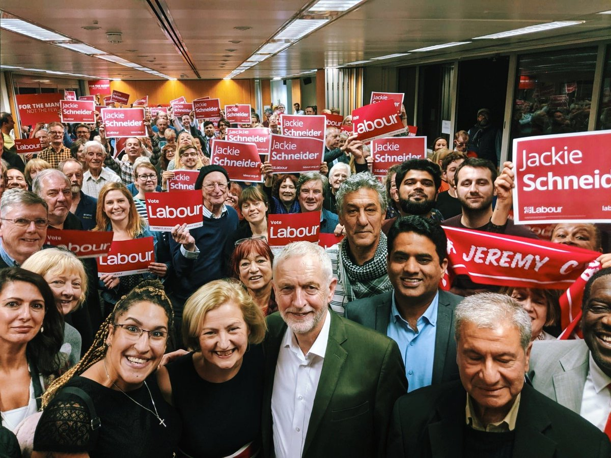 .@JackieSchneider is a teacher who knows our schools need funding so every child can fulfil their potential. Jackie is Labours brilliant candidate to be the next MP for Wimbledon.