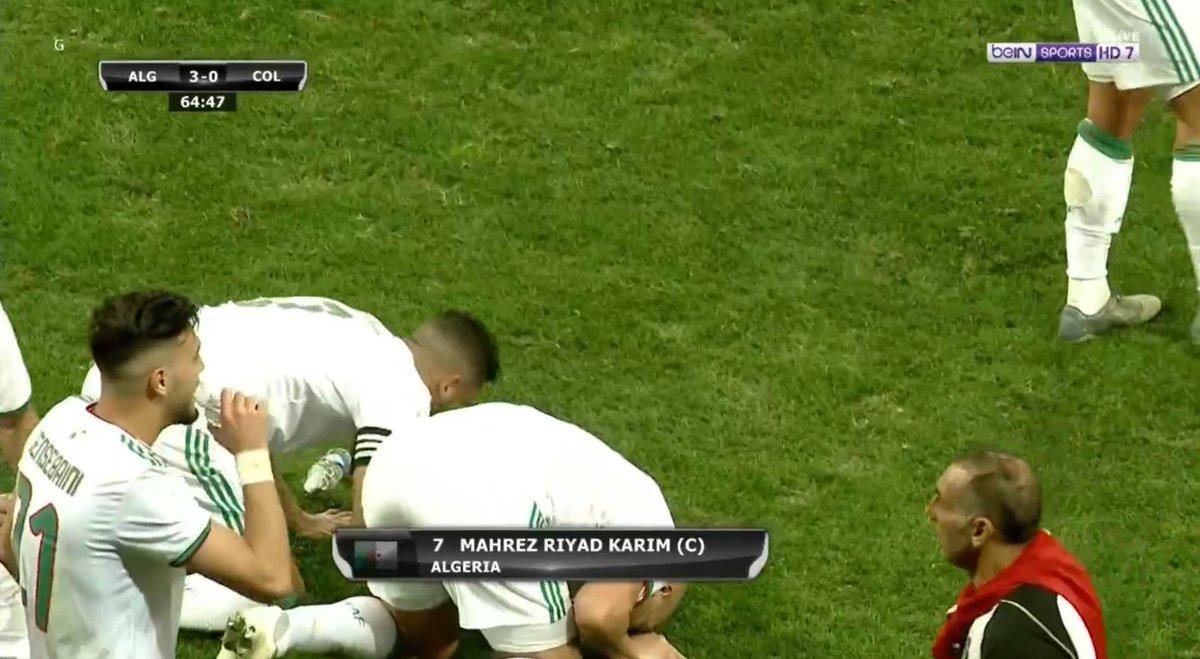 RT @DZfoot: BUUUUUUUT RIYAD MAHREZ ! 3-0 pour l'Algérie https://t.co/2FaMh2dLxt