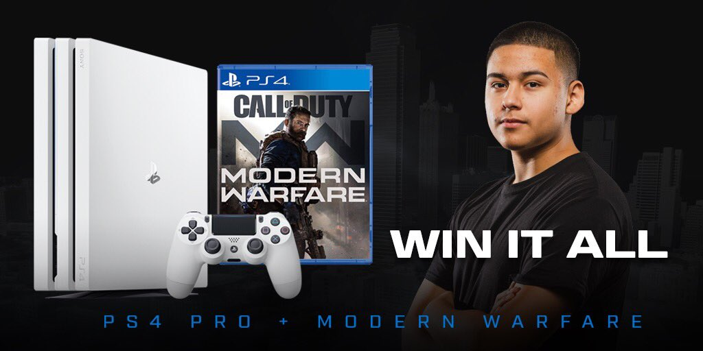 Very excited to be playing for @COD_Dallas ! I'll be giving away a free PS4 and copy of the new #ModernWarfare signed by me!Like and follow me & @Cod_DallasRT & Tag a friend