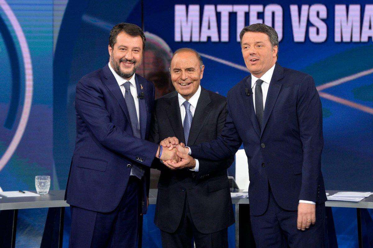 RT @matteorenzi: Ora su @RaiPortaaPorta Rai1 con @...