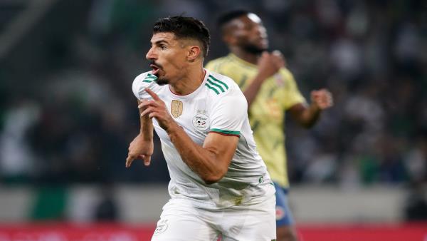 RT @AlsaddSC: Our striker Baghdad Bounedjah scored the first goal in Algeria's 3-0 win over Colombia 👏🇩🇿  #AlSadd  https://t.co/QWrNnnSgFd