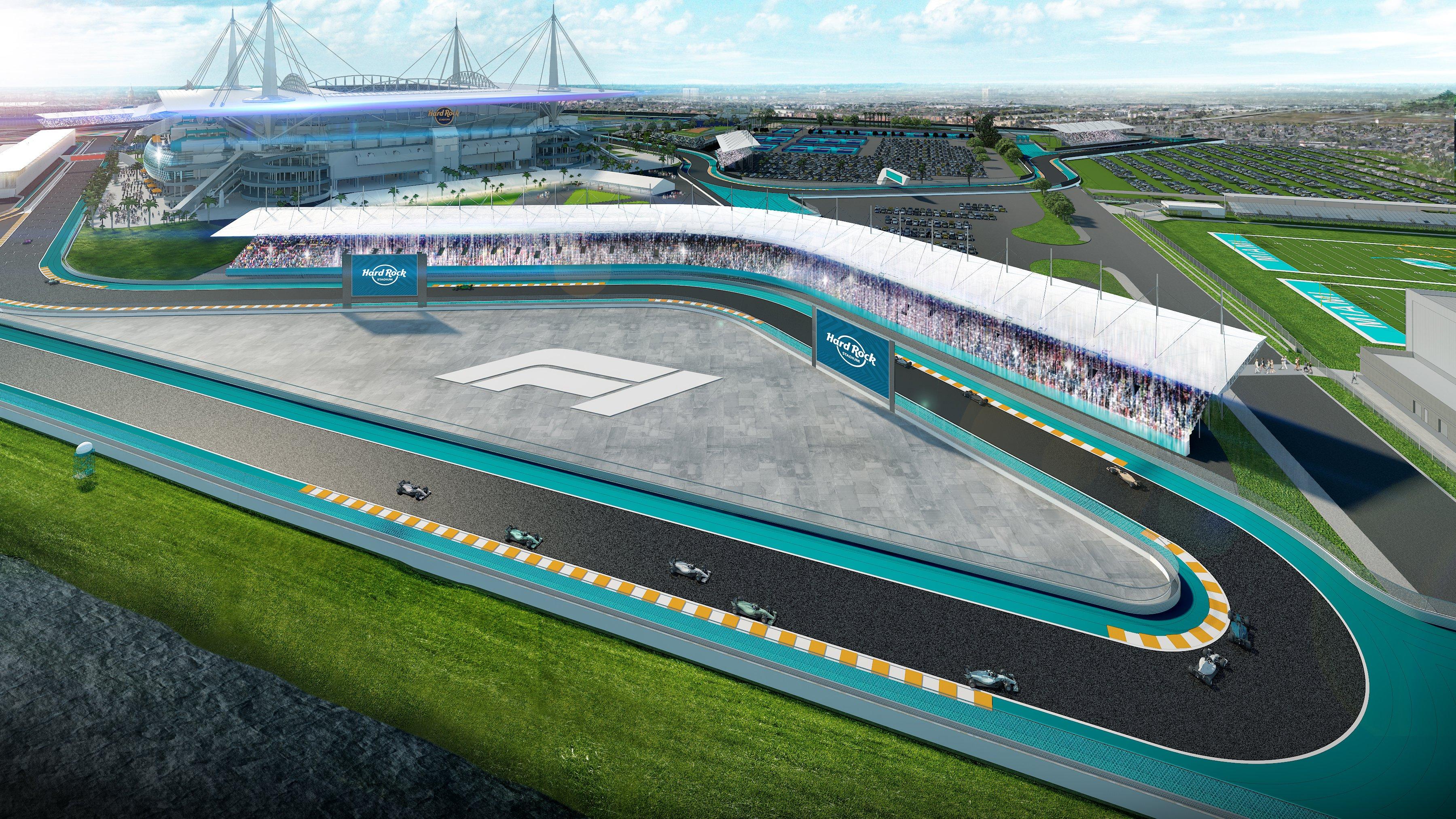 Se confirma la llegada del GP de Miami al calendario de la F1 en 2021