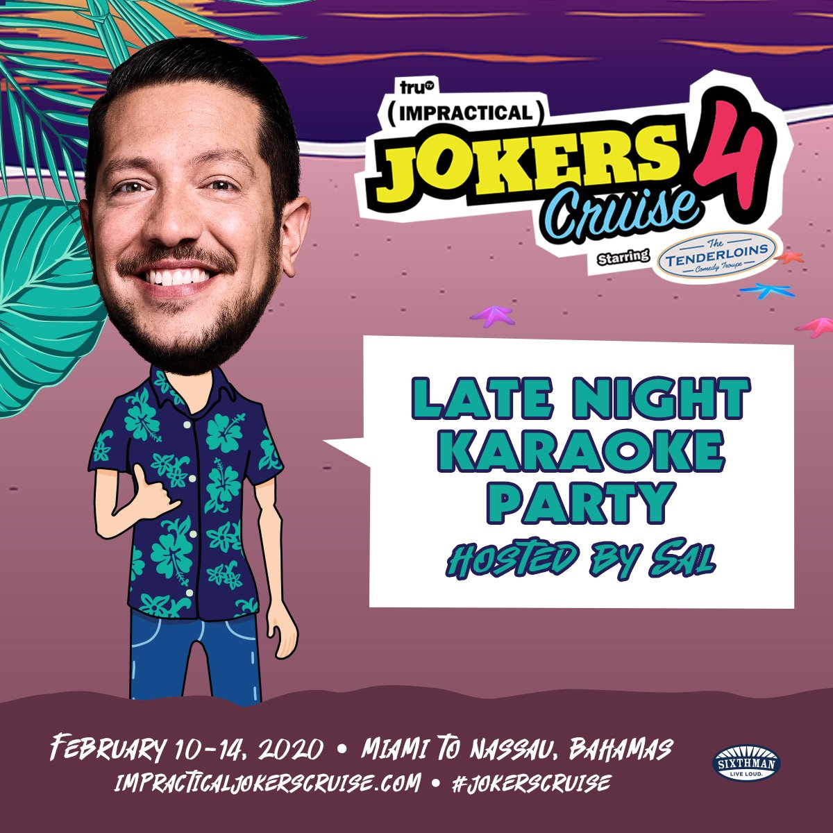 What will you sing at Sal's Karaoke Party?! #jokerscruise<br>http://pic.twitter.com/NiyHK09Aha