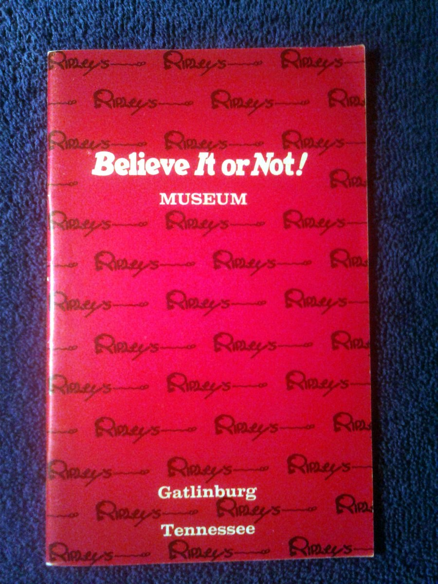 Excited to share the latest addition to my #etsy shop: Vintage 1971 Ripley's Believe or Not Museum Guide Vintage Paperback Book https://etsy.me/2IUzIMX  #vintage #collectibles #vintagebook #vintagemagazine #occult #sciencefiction #antiquebook #souvenir #tennesse