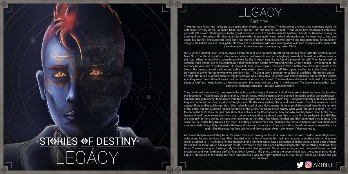 Stories of Destiny | Legacy | Chapter one