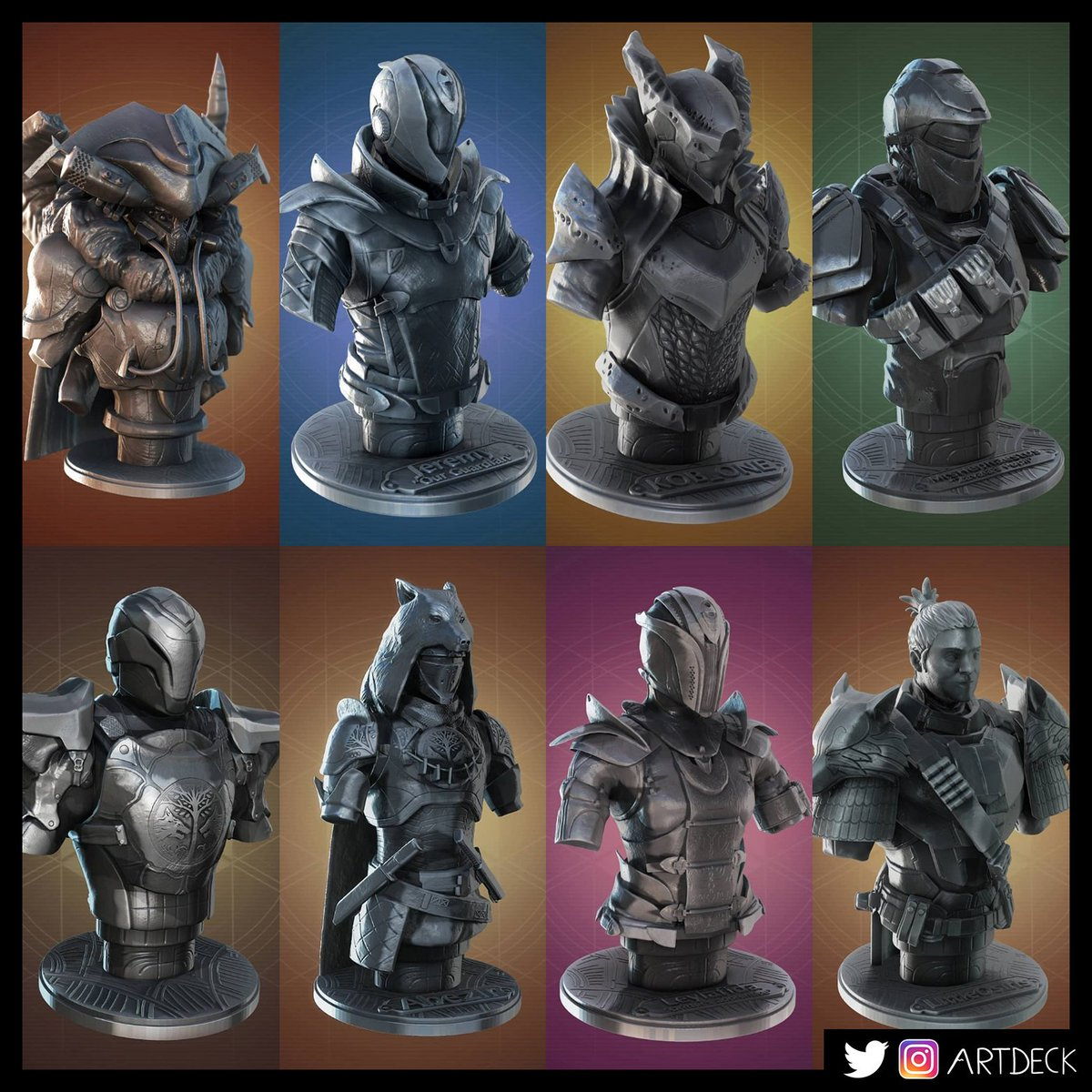 Guardian Busts Collection #1
