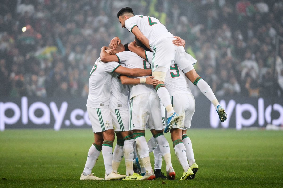 Algeria has now beaten 3 South American teams:  3-0 vs Colombia  1-0 vs Uruguay  3-2 vs Chile   3 down, 7 more to go #CONMEBOL <br>http://pic.twitter.com/zyGk9XaI7l