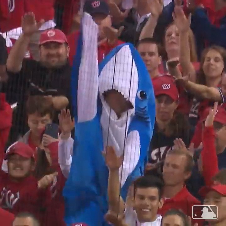 The #NLCS takes Baby Shark to another level 🦈😆  (via @MLB)