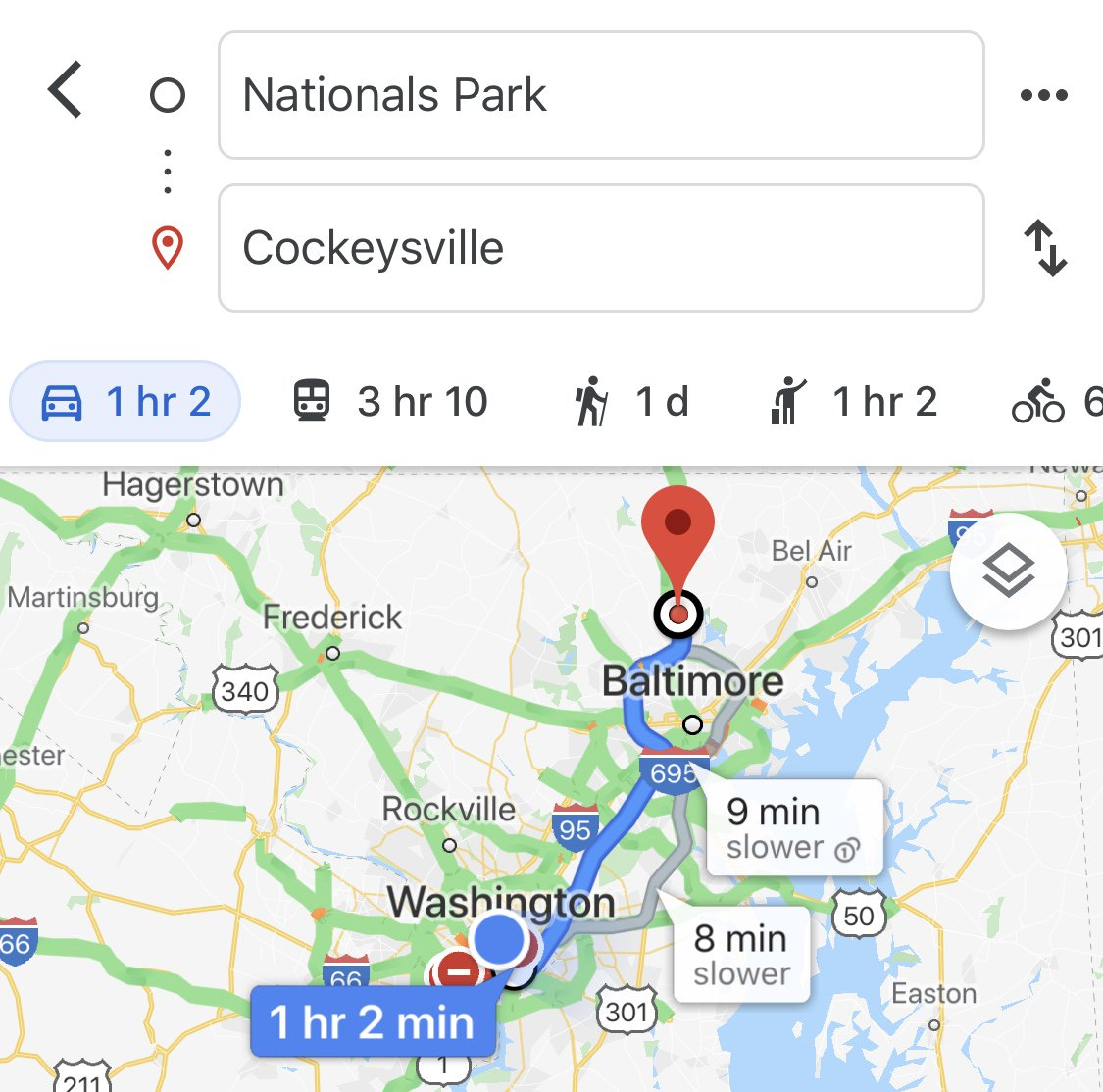 A reminder: Just because we're up, and Cockeysville is just an hour away from @Nationals Park, we definitely should NOT go there... #STAYINTHEFIGHT pic.twitter.com/kGk6qlahBO