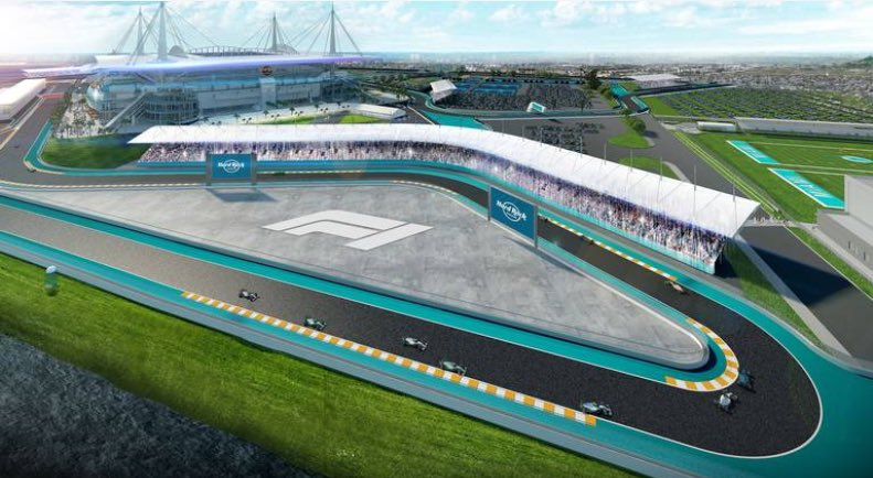 "#F1 & city of Miami have reached an ""agreement in principle"" 🤝 to bring a GP event to the city in 2021, at #HardRock stadium.  With this fresh announcement, race is set to be held in May 2021.  The Hard Rock Stadium is the home of National Football League team *Miami Dolphins*."