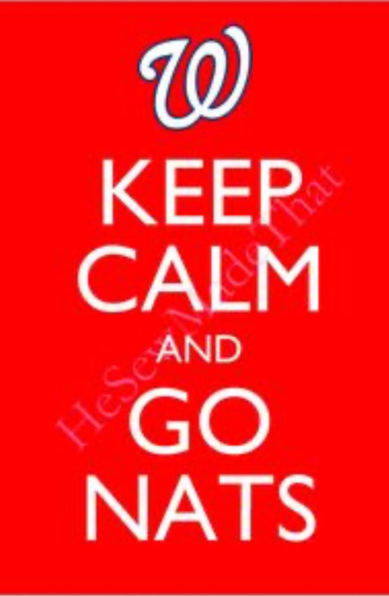 GO NATS!!!! 3 outs y pal World Series!!!